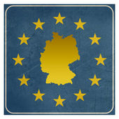 Germany European sign — Stock Photo