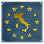 Italy European sign — Stock Photo