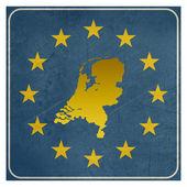 Netherlands European sign — Stock Photo