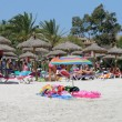 Stock Photo: Spanish beach in Majorca