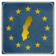 Sweden European sign — Stock Photo