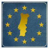 Portugal European sign — Stock Photo