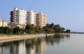 西班牙旅游酒店 — 图库照片