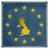 United Kingdom European sign — Stock Photo