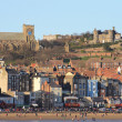 Scarborough South Bay seafront — Stock Photo