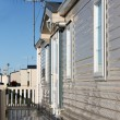 Stock Photo: Exterior of mobile home