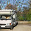 Mobile camper van — Stock Photo