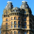 Old gothic hotel building — Stock Photo