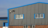 Modern industrieel gebouw — Stockfoto