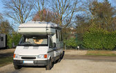 Mobil camper van — Stok fotoğraf