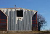 Stary budynek przemysłowy — Zdjęcie stockowe