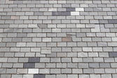 Gray tiled roof — Stock Photo