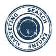 Search Engine Marketing concept stamp — 图库照片 #24601355