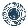 Search Engine Marketing concept stamp — Stock Photo #24601355