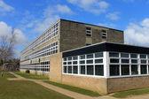 Exterior of school building — Stock Photo