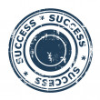 Success stamp — Stock Photo
