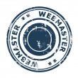 Webmaster SEO concept stamp — Stock Photo