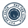 Stock Photo: Pay Per Click SEO concept stamp