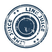 Link Juice concept stamp — Stock Photo