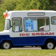 Stock Photo: Ice cream van