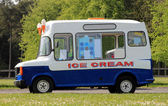 Ice cream van — Stock Photo