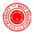 Best product concept stamp — Foto Stock