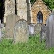 Old graves in cemetery — Stock Photo #27178485