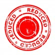 Stock Photo: Reduced concept stamp
