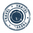 Stock Photo: Travel concept stamp