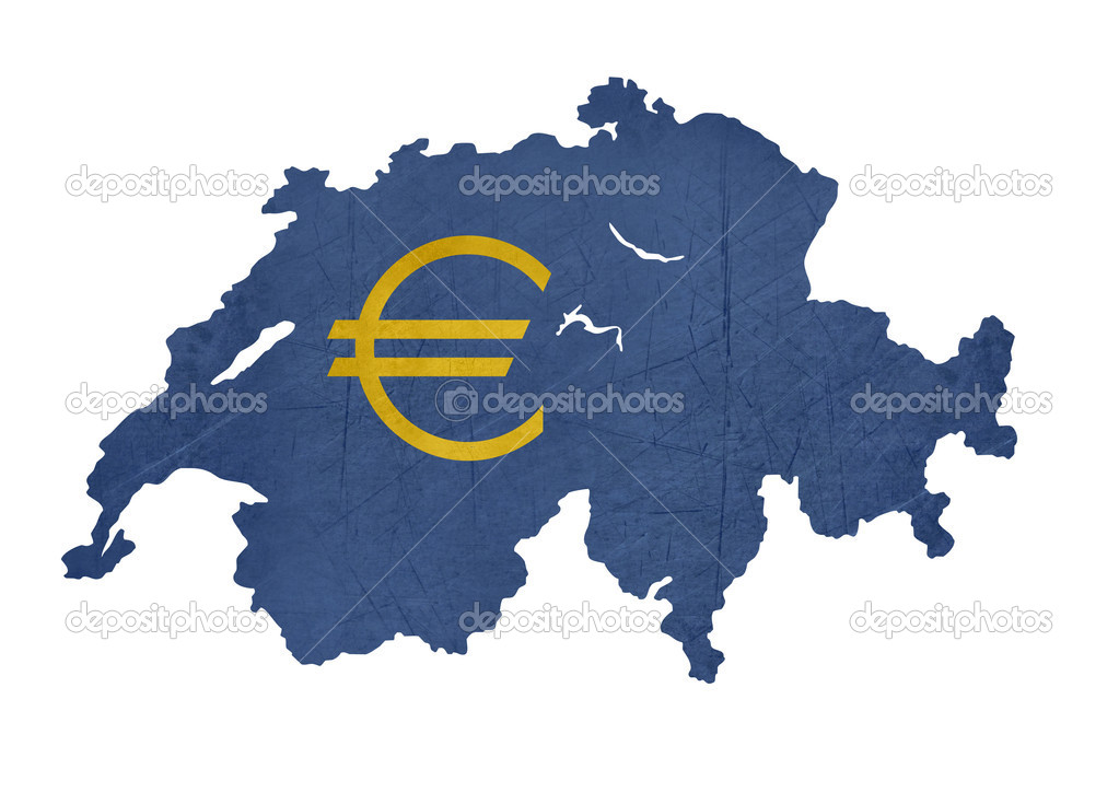switzerland currency map