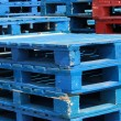 Stacks of pallet crates — Stock Photo #28308791