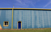 Industrial warehouse building — Foto Stock