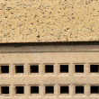 Air brick on building — Stockfoto