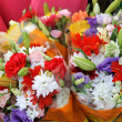 ������, ������: Bouquets of colorful flowers