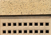 Air brick on building — Foto de Stock