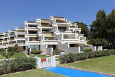Spanish hotel apartments — Stockfoto