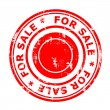 For sale concept stamp — Stock Photo #30008319