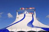Stora topp cirkustält — Stockfoto