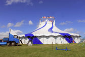 Circus big top tent 1 — Foto Stock