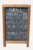 Mixed grill cafe sign — Stock fotografie