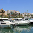 Alcudia harbor in Spain — 图库照片