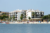 Alcudia Bay and beach — Foto Stock