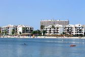 Alcudia Bay and beach — Foto de Stock