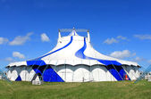 Circus big top tent in summer — Stock Photo