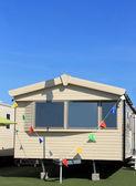 Modern static caravan — Stockfoto