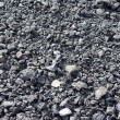 Textured pile of coal — Stock Photo
