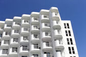 White hotel building — Foto de Stock