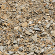 Piles of brown rocks — Stock Photo