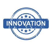 Business innovation stamp — Stock Photo