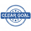 Clear Goal — Stock Photo